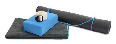 CALM Yoga Kit, 3mm mat, block, strap, towel  05-0119