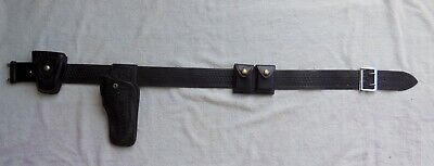 Law Enforcement Duty Belt With Holster Ammo Carriers Handcuff Carrier
