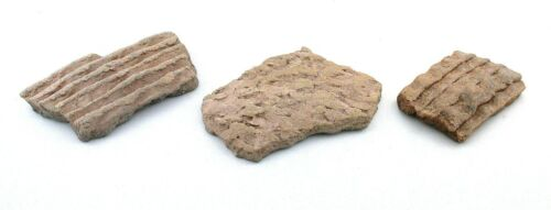 Three Pieces OF Antique Pottery Shard American Indian Artifacts AP3