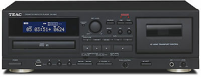 TEAC AD-850 Cassette & CD Player/USB-recorder/Karaoke mic-in AUTHORIZED-DEALER, used for sale  Shipping to South Africa