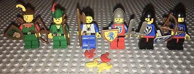 Lego 6103-1 Castle Knights Minifigure Pack Complete Set Vintage