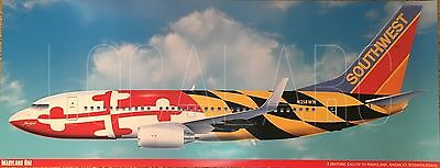 Southwest Airlines B737 Maryland One livery poster
