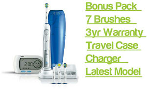 Braun Oral B Triumph 5000 Trizone Electric Toothbrush With Smart Guide Oralb New