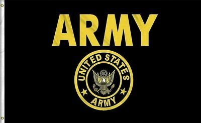 US Army Crest Flag United States Military Banner Polyester 3×5 Foot Flags Décor