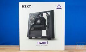 NZXT H400i Case White - Brand new