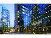 Office Space in London Canary Wharf E14 | From £125 per person p/w ! |