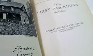 A History of American Life: Vol 2-The First Americans 1607-1690 Kitchener / Waterloo Kitchener Area image 2