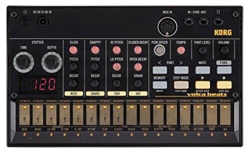 KORG Volca Beats Analog Rhythm Machine New Free Shipping w/Track