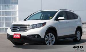 2014 Honda Cr-V Touring **LEATHER**TOUCHSCREEN**NAVIGATION**SUNR