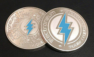 10 Pack   Electroneum Crypto Coins In Cases   Fast Shipping   Commemorative