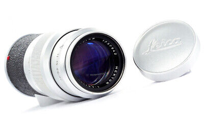 LEICA HEKTOR 135mm f4.5 - 1960 - M MOUNT - EXCELLENT!