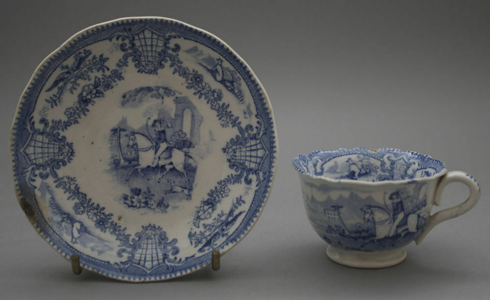 How to Care for Decorative Pre-c.1840 Date-Lined Ceramics