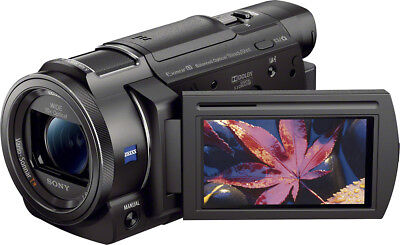 Open-Box Excellent: Sony - Handycam AX33 4K Flash Memory Camcorder -
