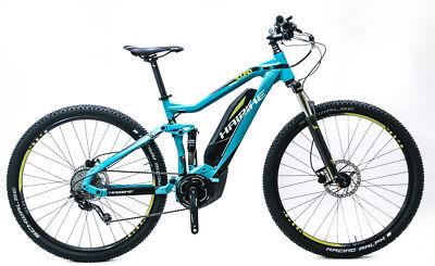 "HaiBike Full Nine SL Sduro 55cm 22"" 29er Electric E-Bike Yamaha Shimano 10s NEW"