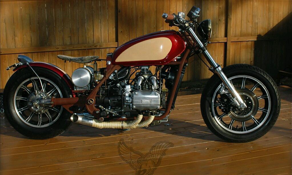 Project Bike Bobber Cafe Racer Or Spares Honda Goldwing Gl1100