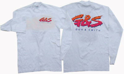 G&S / Gordon & Smith L.S. Vintage Surf Tee- Original 80s Surfing - S-WP
