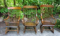 Primitive Canadiana Rocking Chairs & Rockers