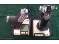 SAITEK X52 FLIGHT SIMULATOR JOYSTICKS