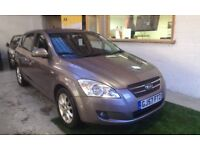 2007 KIA CEE'D 1.6 CRDi LS DIESEL, 5DOOR, HATCHBACK, SERVICE HISTORY, CLEAN CAR, DRIVES LIKE NEW