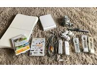 Wii Console Wii fit bundle Everything in pictures