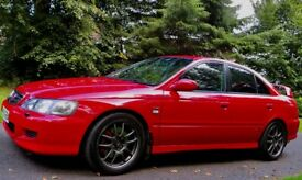 Honda Accord Type R 2001, Vesuvio Red, 96,000 miles, FSH, MOT Aug '19, Timing Belts Just Done