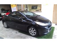2008 PEUGEOT 207 CC 1.6 CONVERTIBLE, FULL SERVICE HISTORY, HPI CLEAR, DRIVES LIKE NEW
