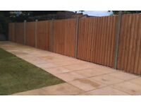 SLABBING - FENCING - DECKING - TURFING - TREE WORK - GARDEN CLEARANCES - FULL LANDSCAPING & MORE ..