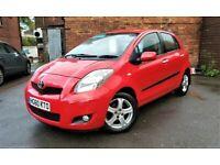 Toyota Yaris TR ECO 1.3 Petrol 2010 5 door *1 year Warranty* 75k Low Road Tax