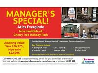 FANTASTIC MANAGERS SPECIAL STATIC CARAVAN ON CHERRY TREE HOLIDAY PARK NEAR GREAT YARMOUTH NORFOLK