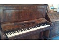 Upright Piano - in need of repair - free if collected