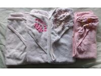 baby towels £5 (pink or neutral) £8 (all)