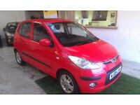 2009 HYUNDAI i10 1.2 STYLE 5DOOR, HATCHBACK, SERVICE HISTORY, CLEAN CAR, DRIVES LIKE NEW, HPI CLEAR