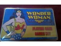 Wonder women playing cards set