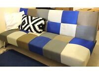 Sofa Bed - Bright and Colourful !
