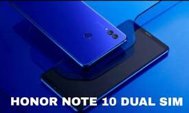 "HUAWEI Honor Note 10 dual sim 6.9""screen large. 64gb"