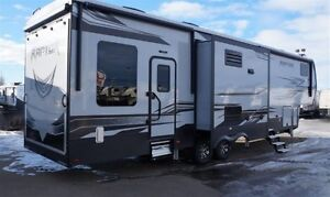 2017 Keystone RV Raptor 362TS Patio, Generator, Auto Level