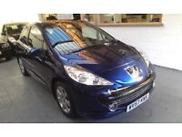 2007 PEUGEOT 207 1.6 AUTOMATIC SPORT 3DOOR HATCHBACK, SERVICE HISTORY, ONLY 64K, DRIVES LIKE NEW