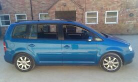 Vw Touran 1.6 1600 petrol MPV Estate 7 Seats Seater