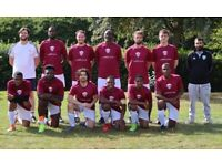 Weekend 11 aside football, teams looking for players, Get fit, lose weight. ref:293