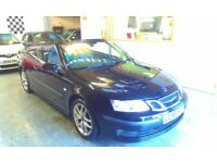 2006 SAAB 9-3 2.0 T VECTOR, CONVERTIBLE, 2DOOR,SERVICE HISTORY, HPI CLEAR, DRIVES LIKE NEW, NICE CAR