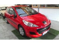 2010 PEUGEOT 207 1.4 S 3DOOR HATCHBACK, SERVICE HISTORY,VERY LOW MILES, CLEAN CAR LIKE NEW,HPI CLEAR