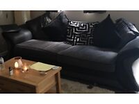 2 x Four seater sofas - 6 years old