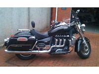 Triumph Rocket 111 Touring with £2000 worth of extras in mint condition