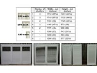 Window shutters – various sizes. Only used for a very short period. Excellent condition