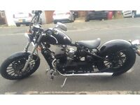 Custom AJS Cruiser for Sale! Dry miles only! Stunning