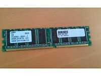 Samsung Computer Ram K4H560838F - TCCC (Used)