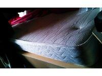 FREE Single Orthopaedic Memory Foam Topped Spring Mattress ! Pickup ASAP - PAISLEY