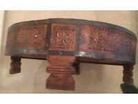 Coffee table - Indian design - teak