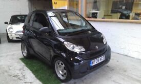 2009 SMART FORTWO 1.0 COUPE, SEMI AUTOMATIC, SERVICE HISTORY, HPI CLEAR, DRIVES VERY NICE