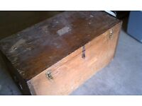 *Wanted* metal or wooden Storage Box, Trunk, Chest (for loft storage - Any condition)
